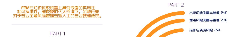 FRM知识体系 - FRM在知识体系设置上具有很强的实用性 和可操作性,能反映时代大环境下,金融行业 对于专业金融风险管理专业人士的专业技能要求。