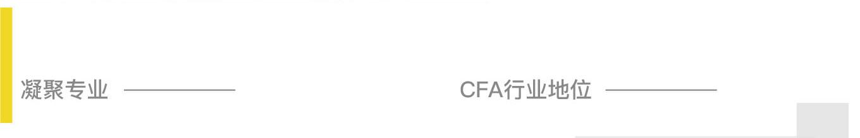 CFA行业地位