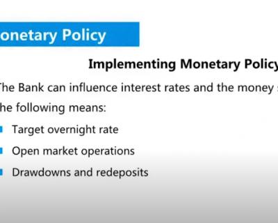 CSC试听课 Chap 5 Implementing Monetary Policy(货币政策的实施)