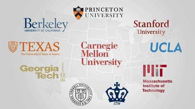 美国大学专业设置更全